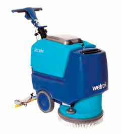 Skurmaskin Wetrok SCRUBO 43B, batteridriven