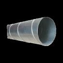 Byggtorkrör 150 mm med skarvstos, längd 2 meter